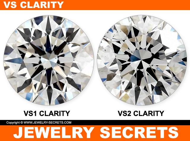 VS1 And VS2 Diamond Clarity
