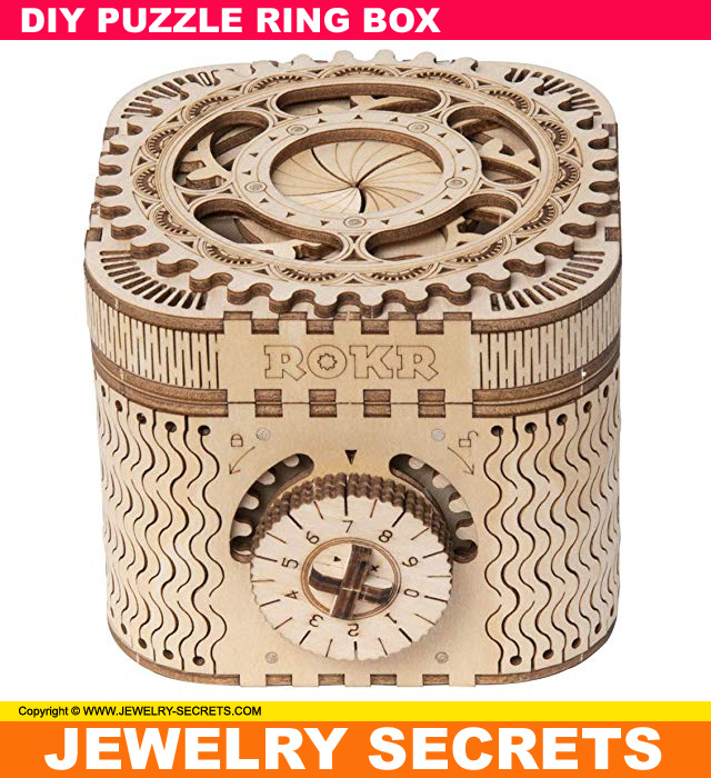 Do It Yourself Fun Puzzle Ring Box