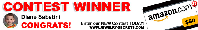 Jewelry Giveaway 27 Winner