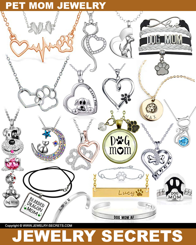 Pet Mom Jewelry For Mothers Day