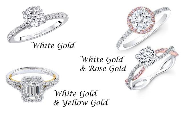 Popular Engagement Ring Metal Colors