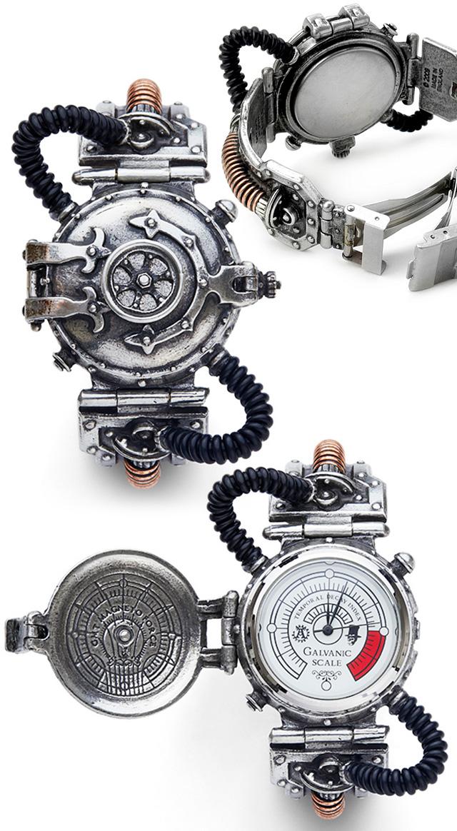 Steampunk Steam Powered Entropy Wrist Watch