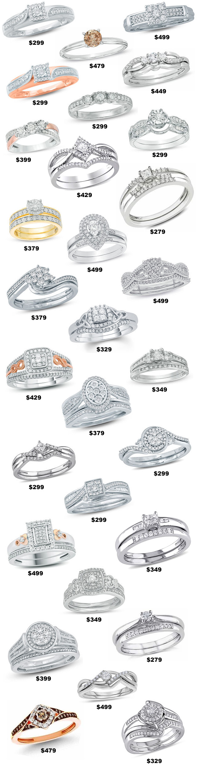 500 Dollar Diamond Engagement Rings