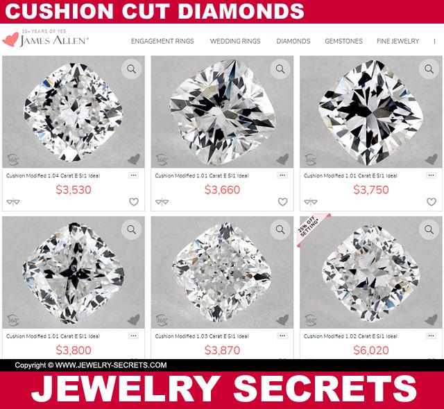 Cushion Cut Diamond Prices