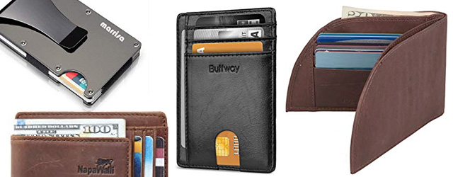 Mens Front Pocket Slim Wallets