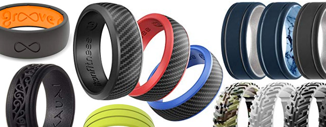 Mens Silicone Rings