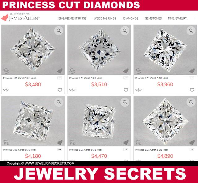 Princess Cut Diamond Prices