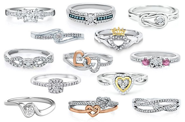 Beautiful Promise Rings
