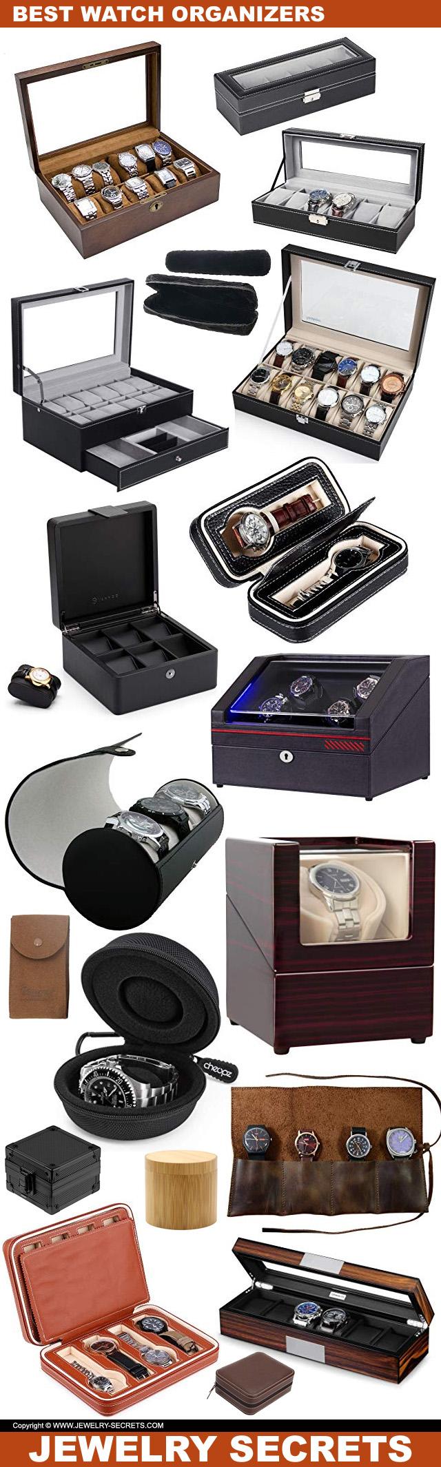 Best Wrist Watch Cases Organizers