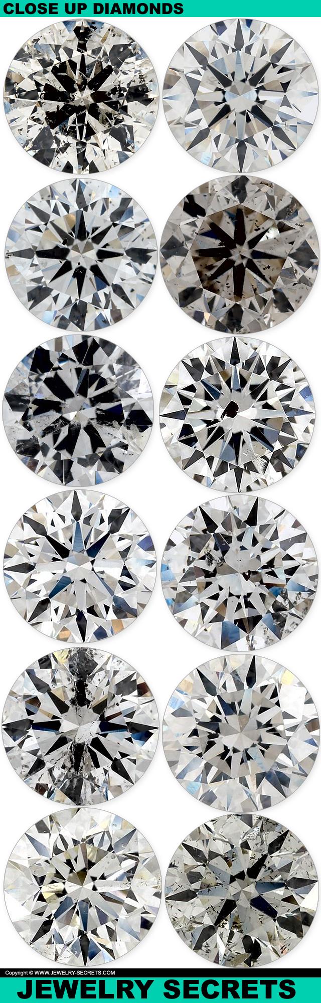 Close Up Photos Of Diamonds