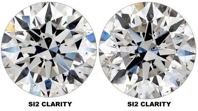 Compare SI2 Clarity Diamonds