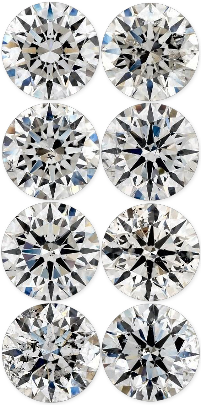 Every Diamond Has Different Looking Inclusions And Flaws
