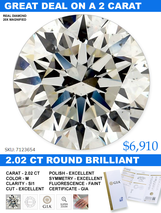Great Deal On A 2 Carat Diamond