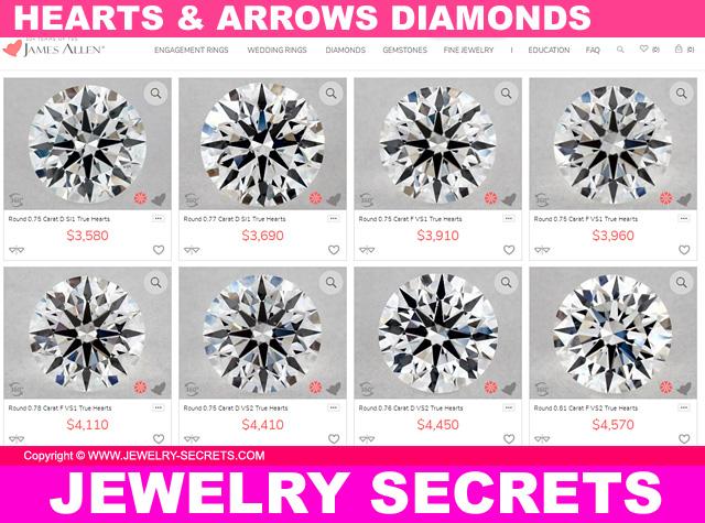 Hearts And Arrows True Hearts Diamonds