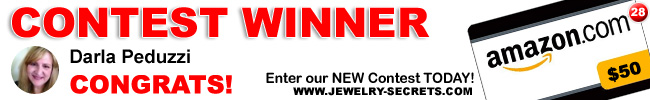 Jewelry Giveaway 28 Winner