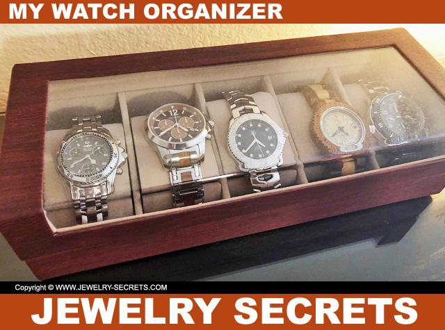 My Personal Watch Organizer