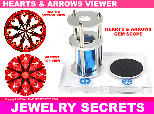 Special Hearts And Arrows Diamond Gem Scope