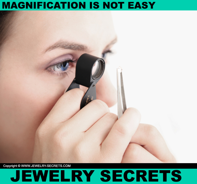 Using A Diamond Loupe Or Microscope Is Not Easy