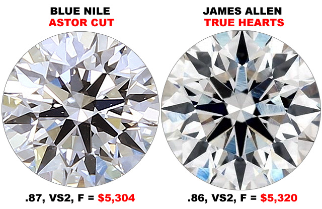 Blue Nile Or James Allen Diamonds Cheaper
