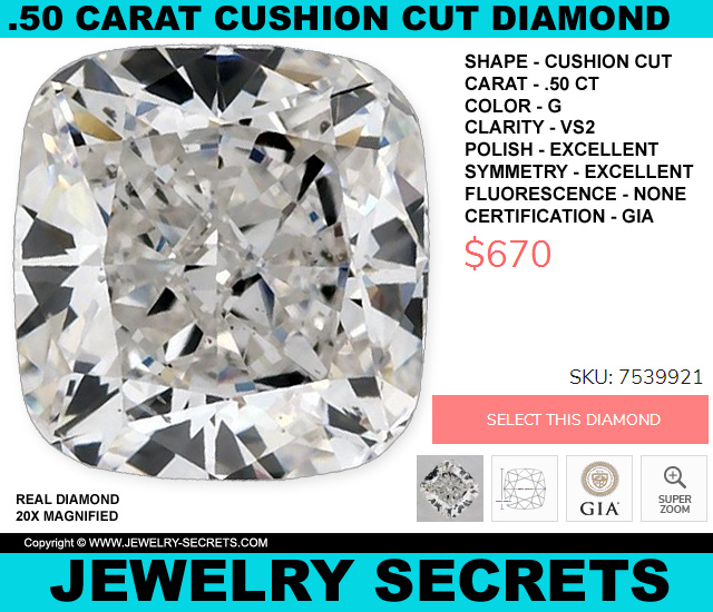 The Cheapest Good Looking Half Carat Diamond Right Now