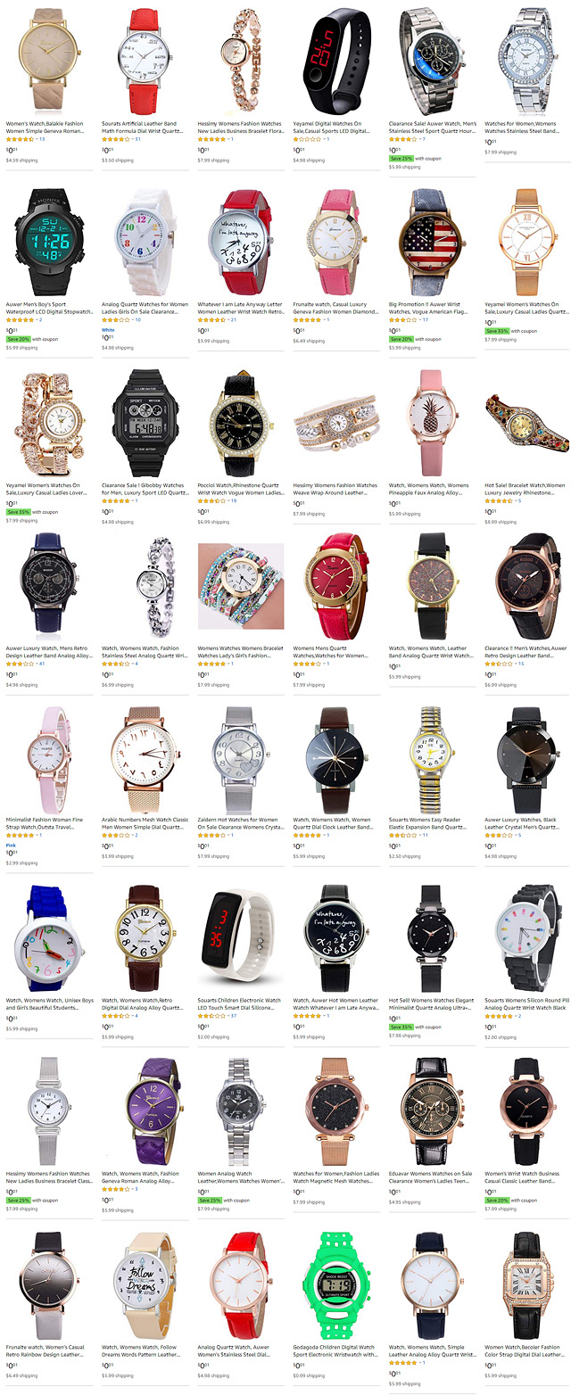 Womens Wrist Watches For One Penny