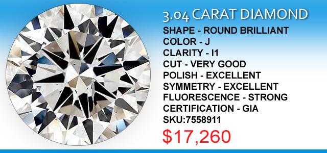 3 Carat Diamond Deals