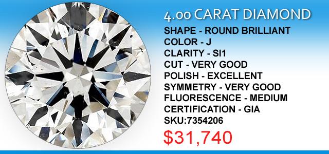 4 Carat Diamond Deals
