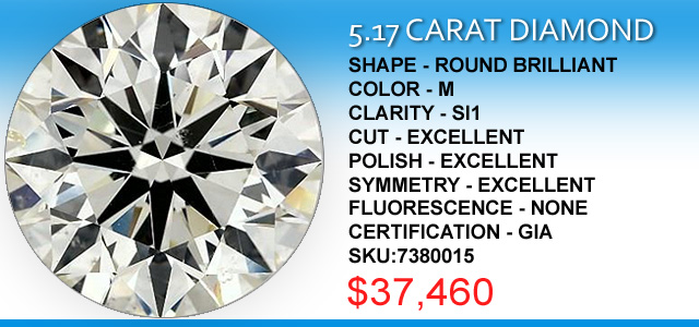 5 Carat Diamond Deals