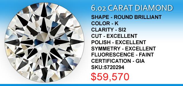 6 Carat Diamond Deals