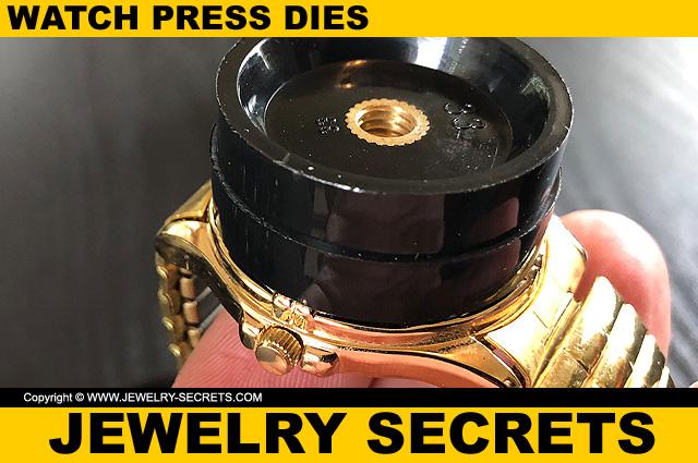 Fit Watch Press Die Over Watch Crystal