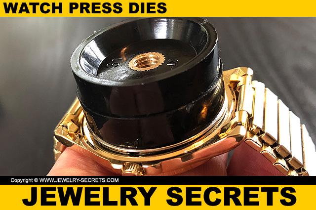 Fit Watch Press Dies To Case Back