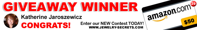 Jewelry Giveaway 29 Winner