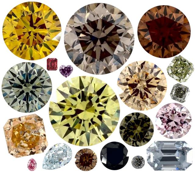 Popular Fancy Color Diamonds