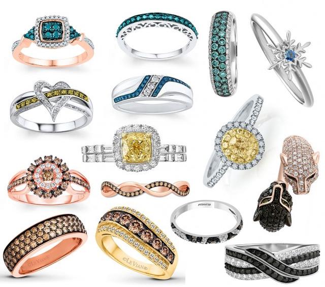 The Most Popular Diamond Colors