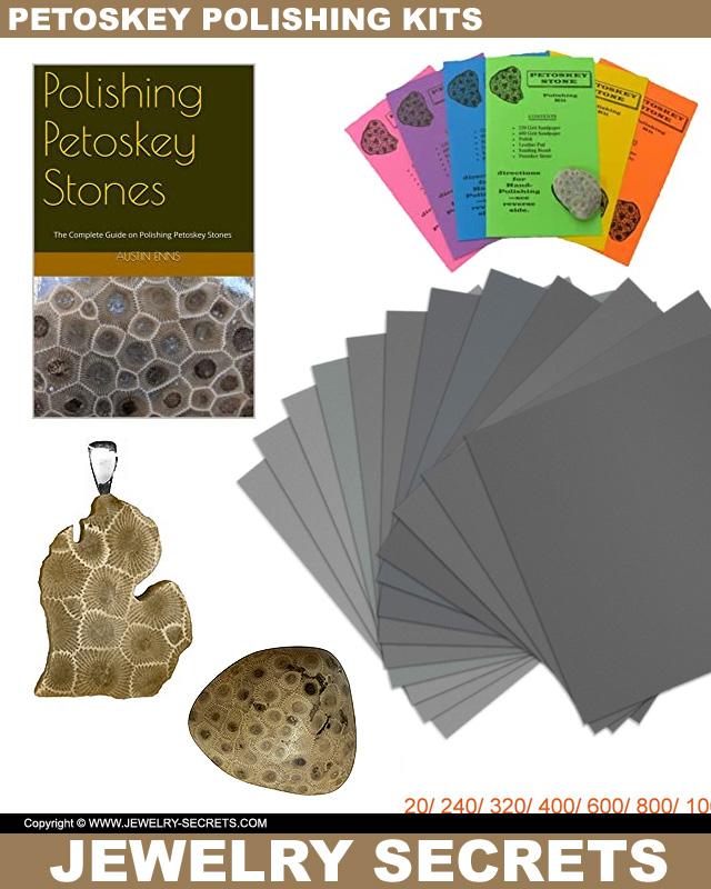 Petoskey Stone Polishing Kits