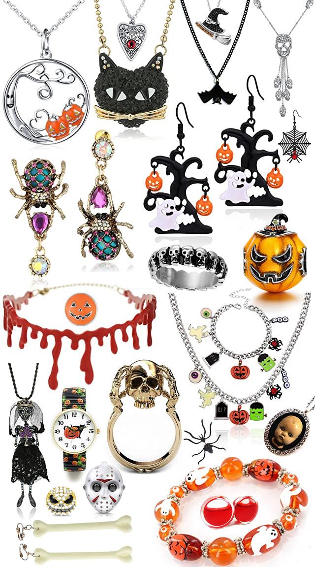 Spooky Fun Halloween Jewelry