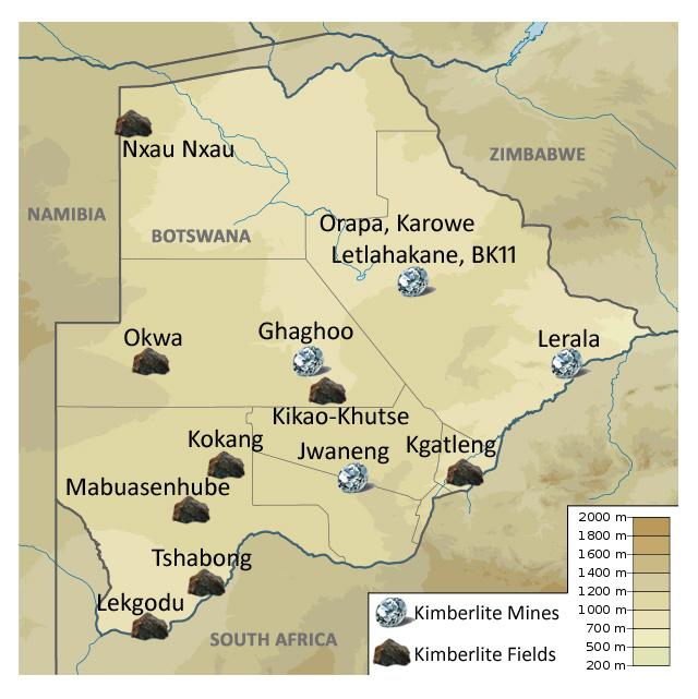 Botswana Diamond Mines