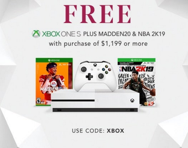 Early 2019 Black Friday Deals With A Free XBox One Plus Madden20 And NBA 2K19