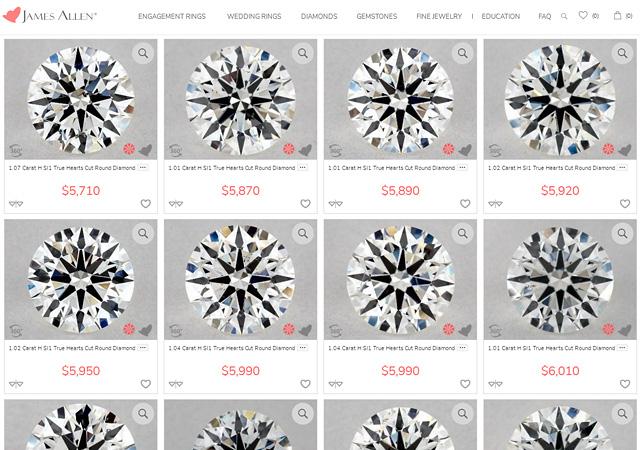 SI1 Perfectly Cut Diamonds