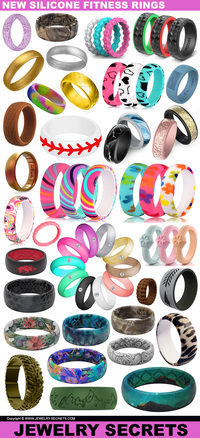 Brand New Fitness Silicone Rings For The New Year