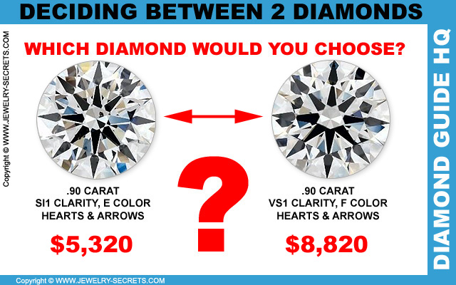Deciding Between Two Similar Quality Diamonds