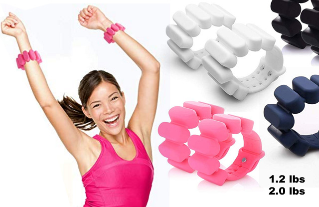 Get Fit With Weighted Fitness Weight Bracelets