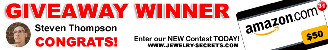 Jewelry Giveaway 31 Winner