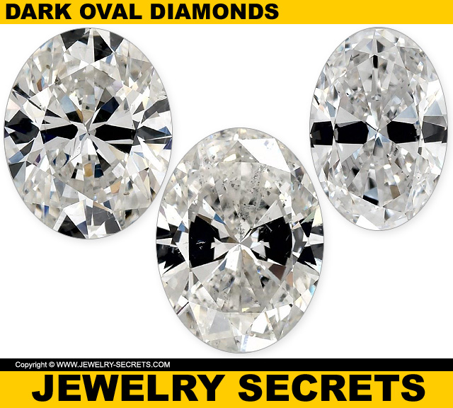 Poorly Cut Oval Cut Diamonds