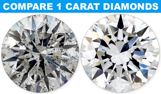 Compare Cheapest To The Most Expensive 1 Carat Diamonds