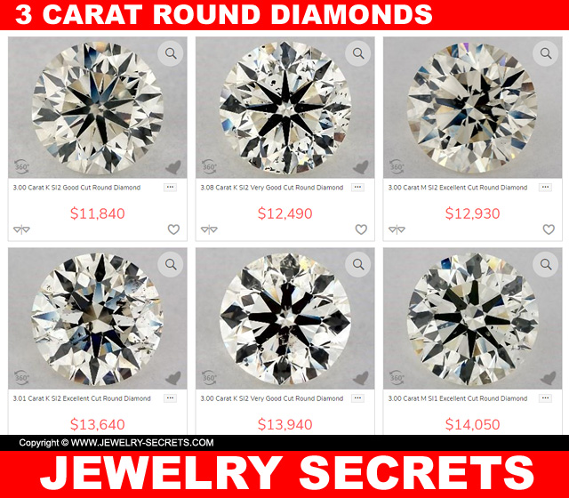 More Great 3 Carat Diamond Deals