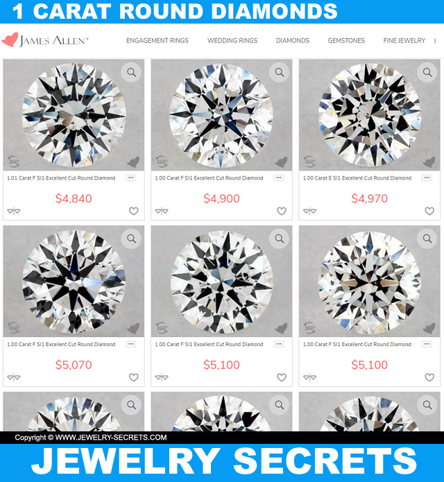 Recommended 1 Carat Diamond Quality