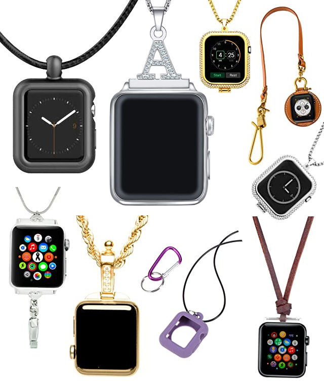 Apple Watch Pendant Necklaces