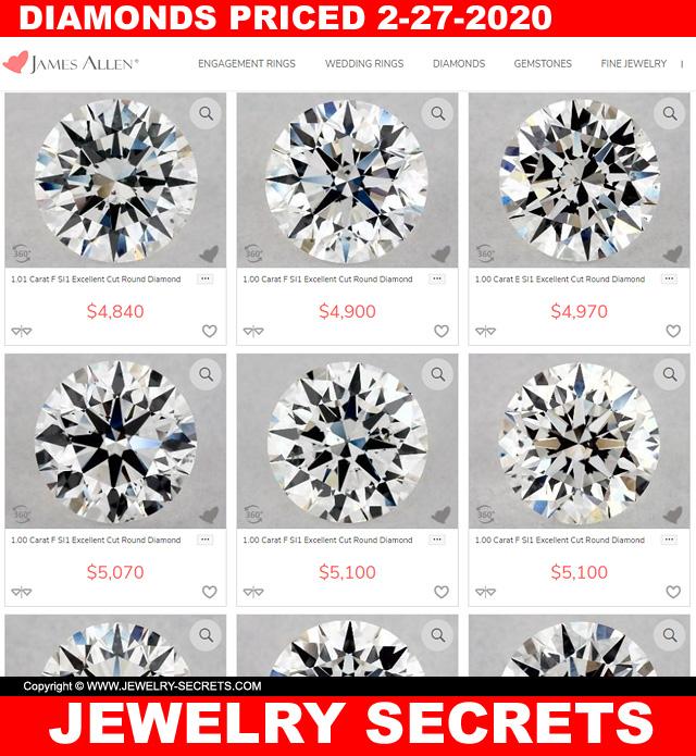 Diamonds Are Cheaper Due To The Coronavirus