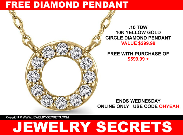 Free Diamond Pendant At Helzberg